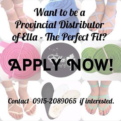 Be our Provincial Distributor