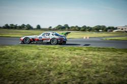 SLS auf dem Race Track