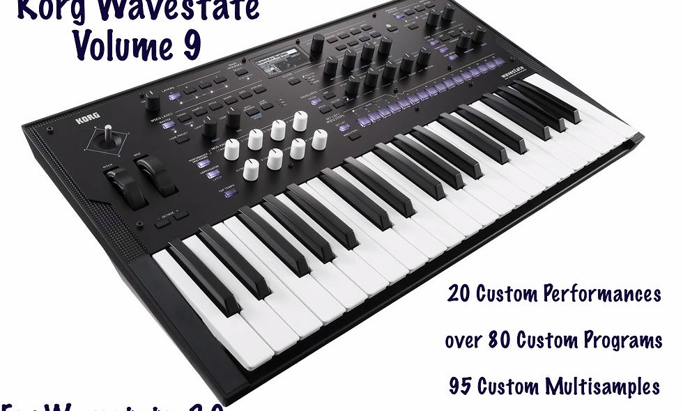 Wavestate Volume 9 by Marc Barnes requires Wavstate 2.0