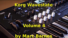 Korg Wavestate Volume 4 by Marc Barnes
