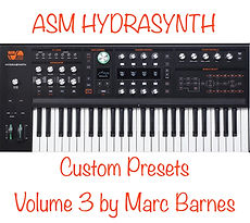 ASM Hydrasynth Volume 3 by Marc Barnes