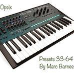 Korg Opsix Custom Presets 33-64 by Marc Barnes