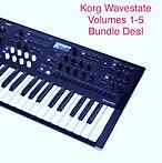 Korg Wavestate Volumes 1-5 Bundle