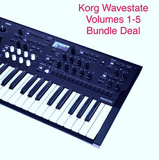 Korg Wavestate Volumes 1-5 Bundle