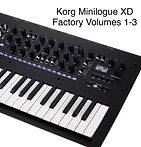 Korg Minilogue XD  Factory on Fire Volumes 1-3 Bundle Deal