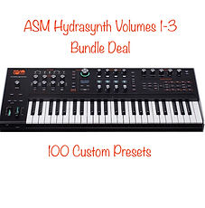 ASM Hydrasynth Volumes 1-3 Bundle