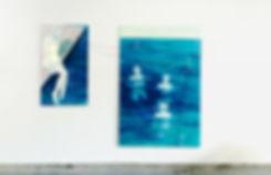 _NaCl+H2O_,2015, peinture à l'huile su