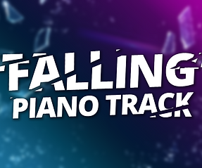 'FALLING' Piano Backing Track