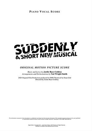 FULL Original Motion Picture Piano Vocal Score (Digital)