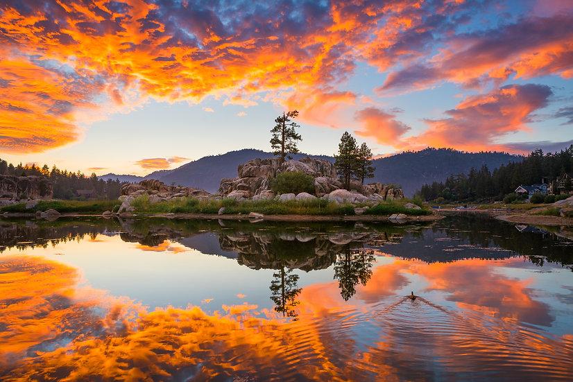 Big Bear - Boulder Bay Orange