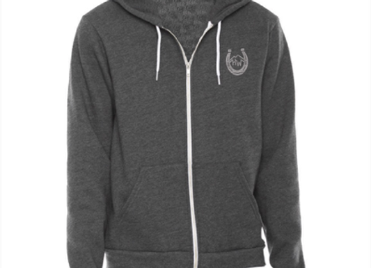 New High West Hoodie - Dark Heather Grey