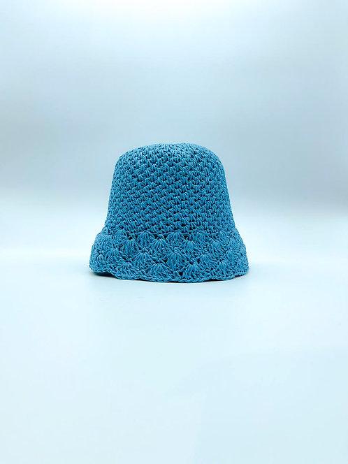 Cappello Pescatora color azzurro