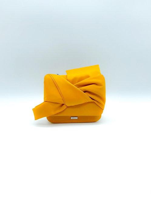 Borsella fiocco tessuto Nalì giallo