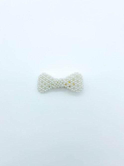 Molletta con perle a fiocco