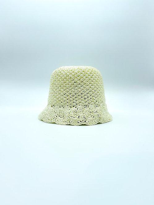 Cappello Pescatora color bianco