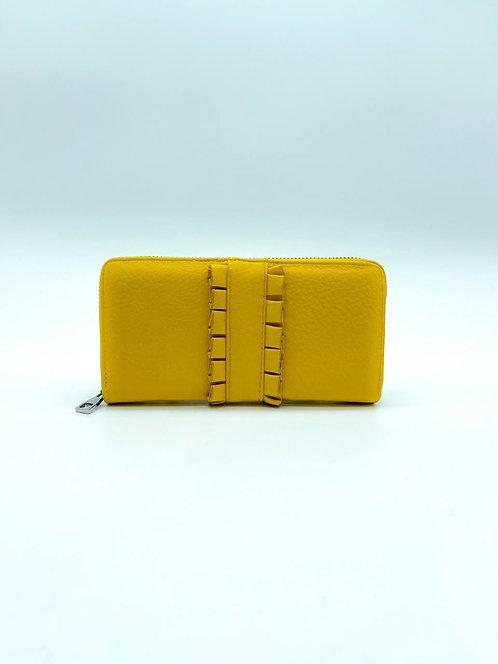 Portafoglio donna color giallo