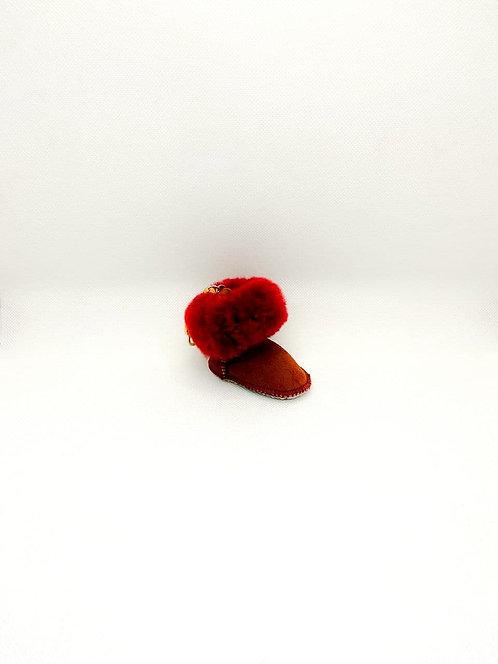 Portachiavi Ugg rosso