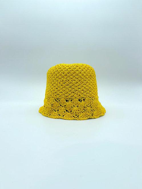 Cappello Pescatora color giallo