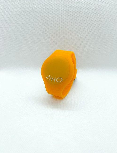 Orologio Zitto basic grande arancio