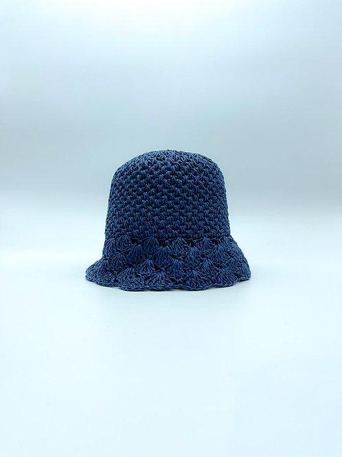 Cappello Pescatora color blu notte