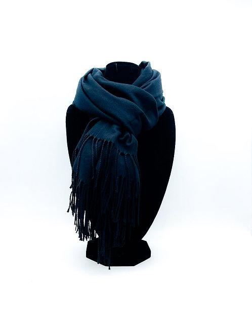 Sciarpa 100% viscosa color nero