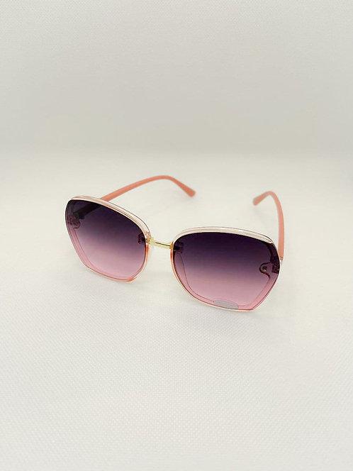 Occhiali sole lente intera rosa