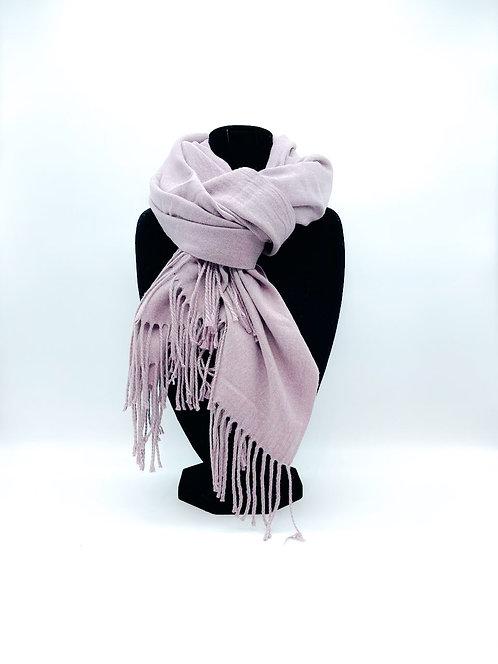 Sciarpa 100% viscosa color rosa chiaro