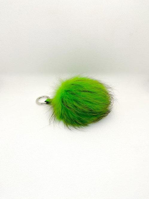 Portachiavi PonPon verde