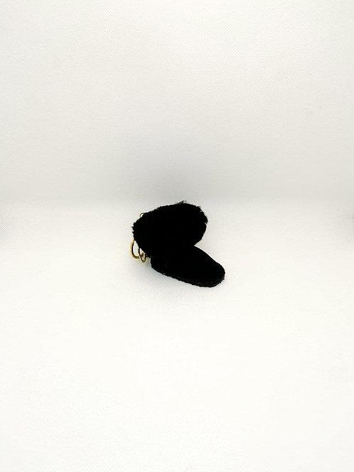 Portachiavi Ugg nero