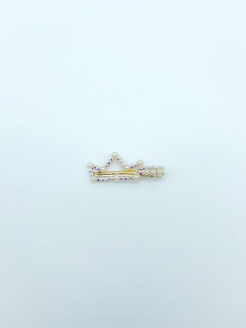 Molletta con perle a corona