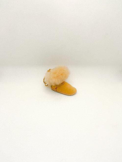 Portachiavi Ugg beige