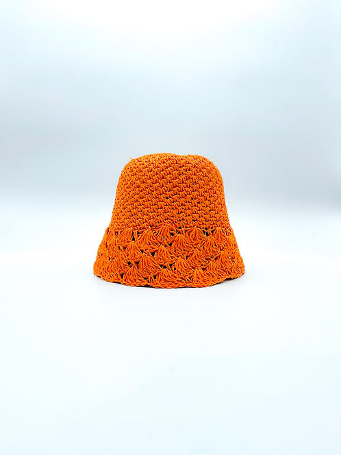 Cappello Pescatora color arancione