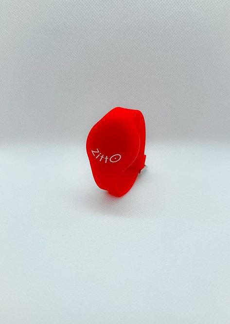 Orologio Zitto basic rosso