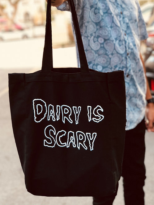 Dairy Is Scary Tote Bag
