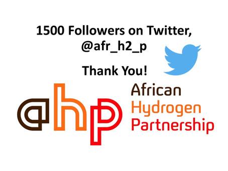 1500+ followers on twitter!