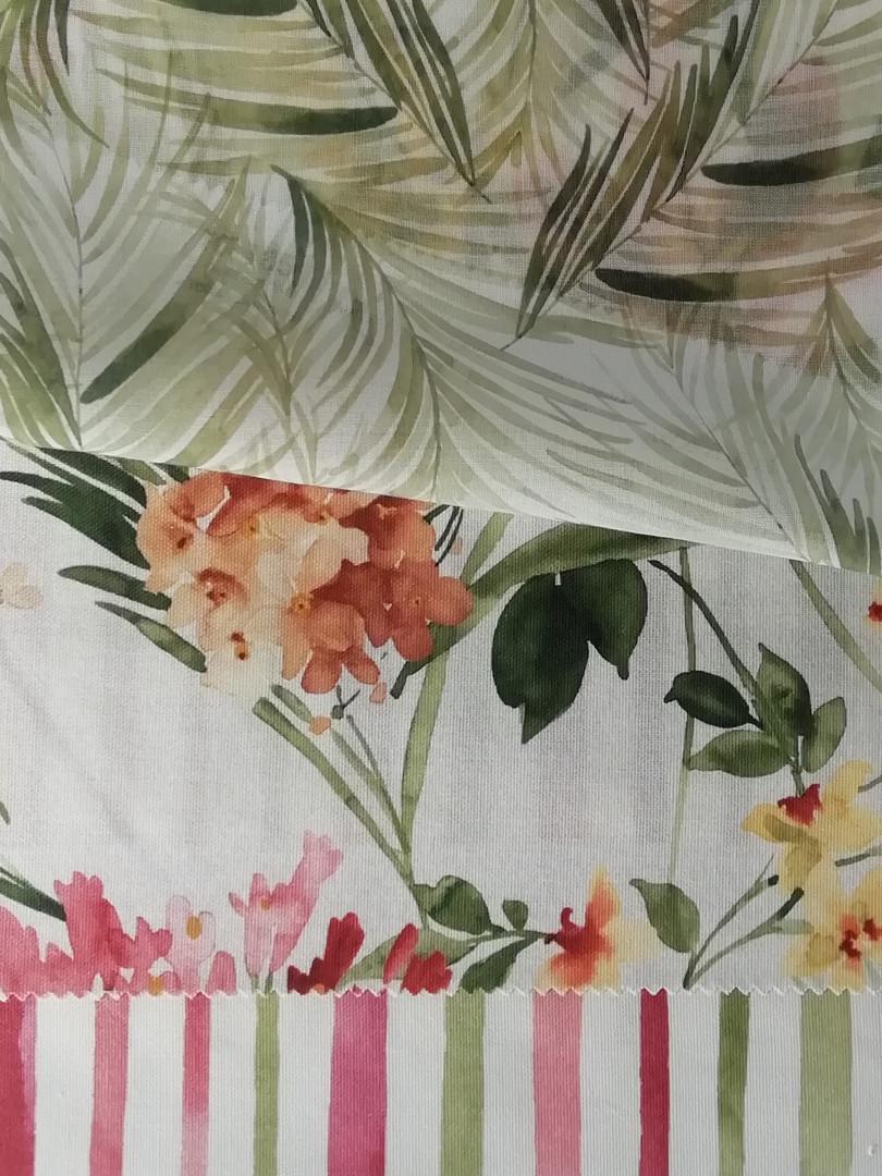 Tissus végétal et fleuri