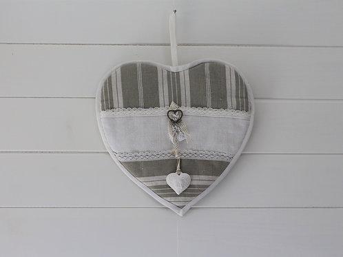 Coeur mural Toile a matelas