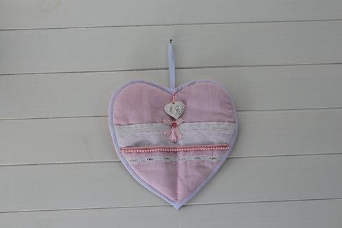 Coeur mural avec  poches