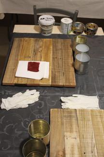 Atelier tableau végétal