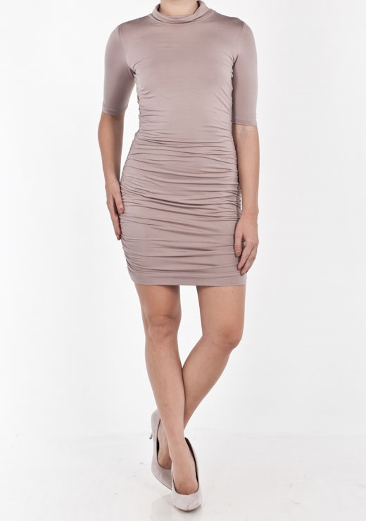 LAYLA TURTLE NECK DRESS
