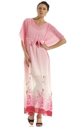 Maxi Kaftan Signature Print Dress