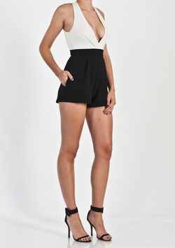PLUNGE COMBO PLAYSUIT
