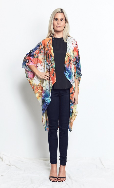 Capes Bright Marble Print
