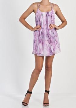 STRAPPY BACK SWING DRESS