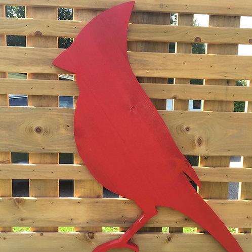 Cardinal Cut-Out