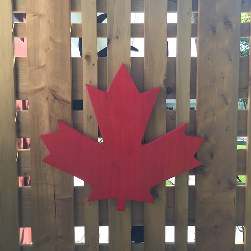 Maple Leaf Cut-Out