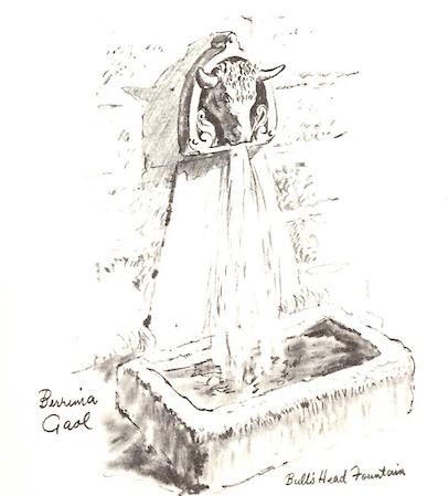 accommodation in Berrima- Bulls Head Fountain Berrima Gaol