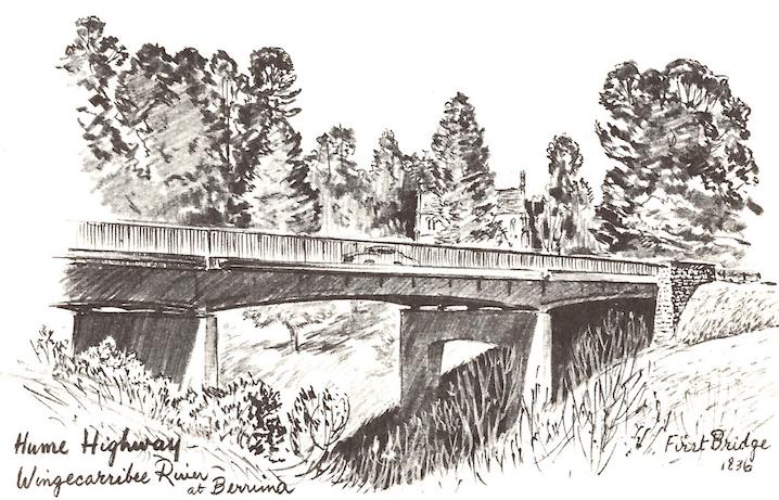 accommodation in Berrima- Old Hume Highway Bridge, Berrima