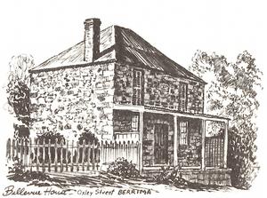 accommodation in Berrima- Bellevue House Berrima, Oxley Street