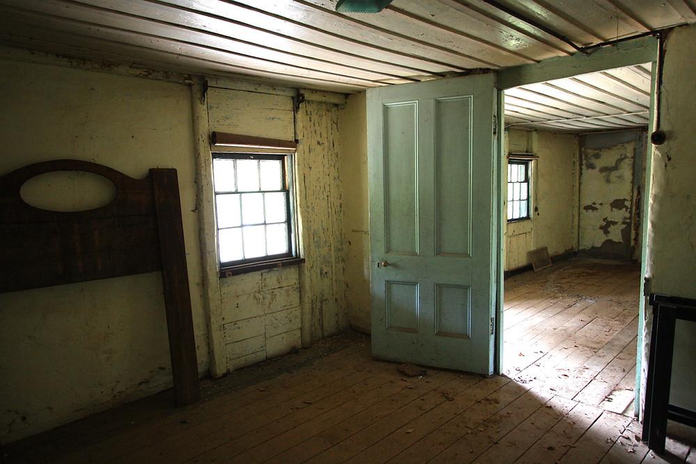 Derelict image of bedroom